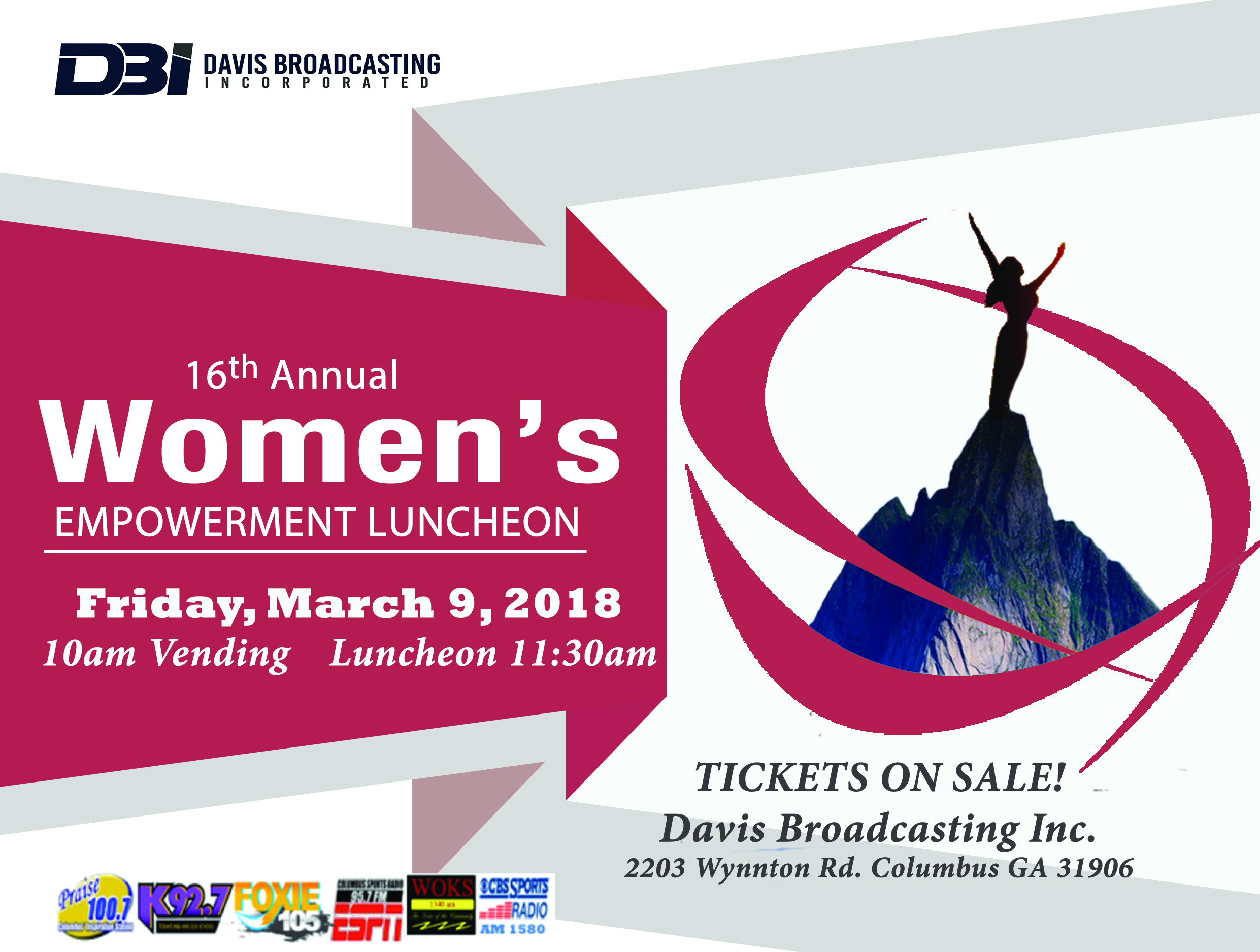 Davis Broadcasting's 16th Annual Womens Empowerment Luncheon