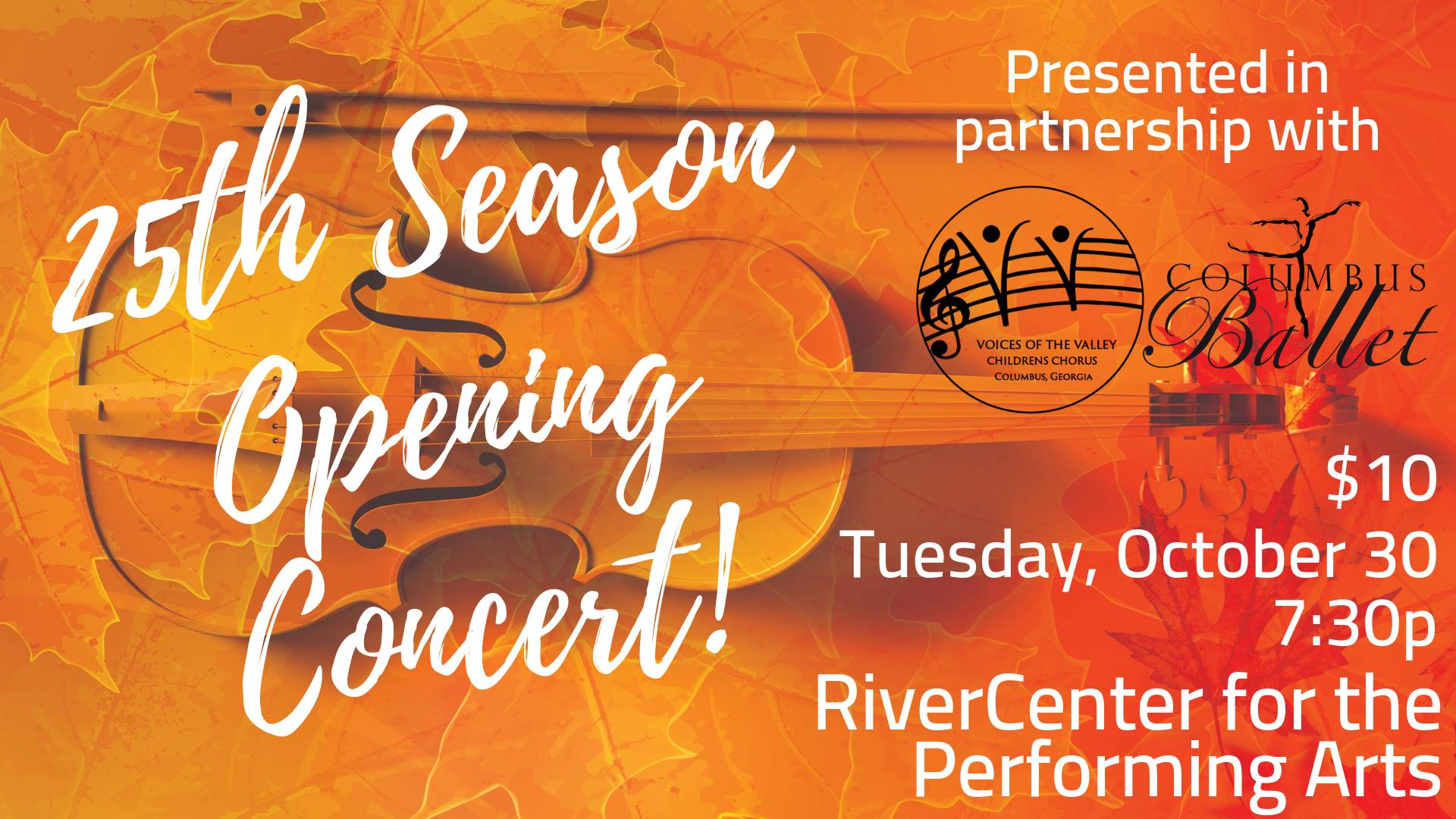 25th Season Opening Concert